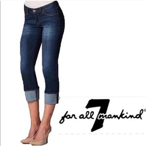 7 For All Mankind Crop Mia jeans
